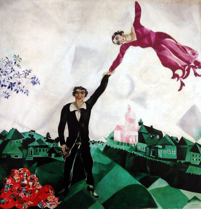 Self Portrait with Seven Fingers: The Life of Marc Chagall in ...
